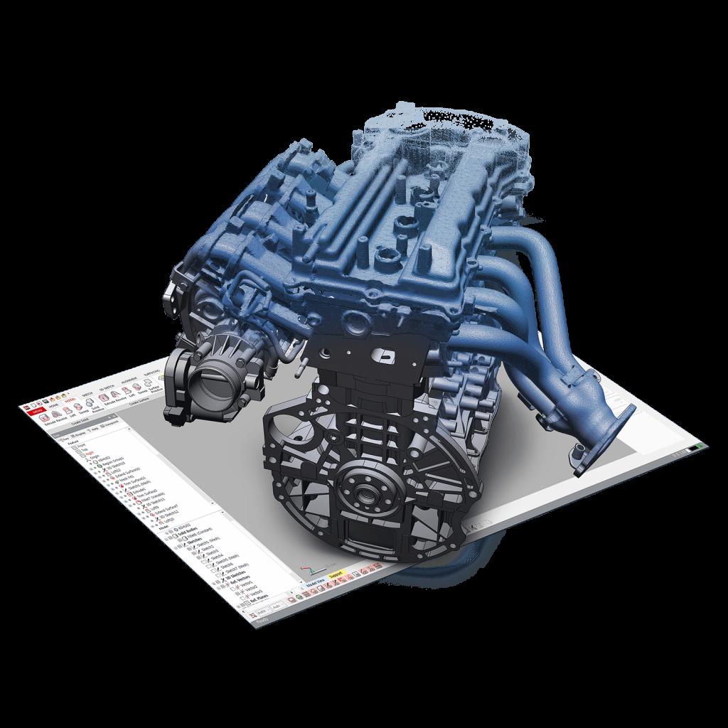 3D Systems Geomagic Design X 3D Software