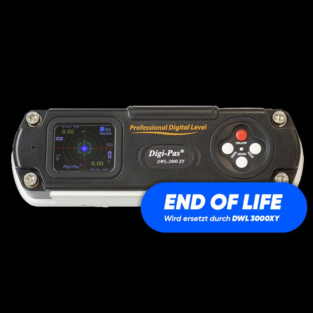 Digi-Pas DWL 2000XY digitale Wasserwaage